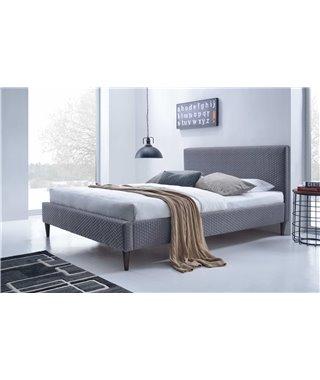 Кровать Halmar FLEXY (серый) 160/200