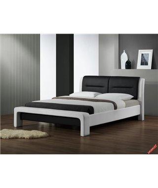 Кровать Halmar CASSANDRA (белый/черный) 120/200