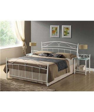 Кровать Signal SIENA (белый) 140/200