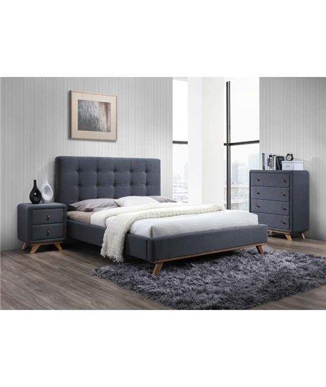 Кровать Signal MELISSA (серый) 160/200