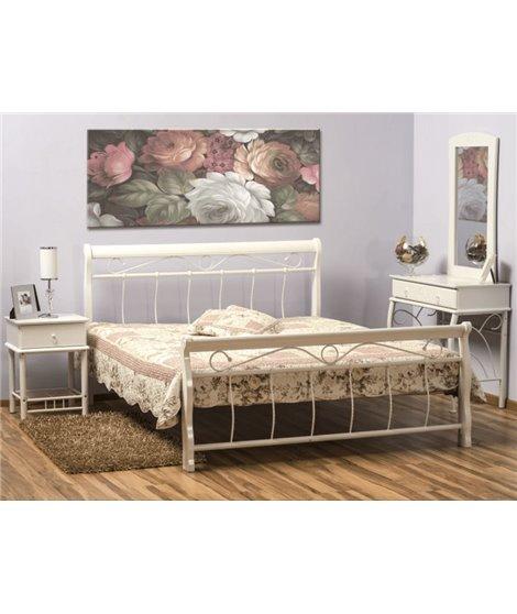 Кровать Signal VENECJA (белый) 120/200