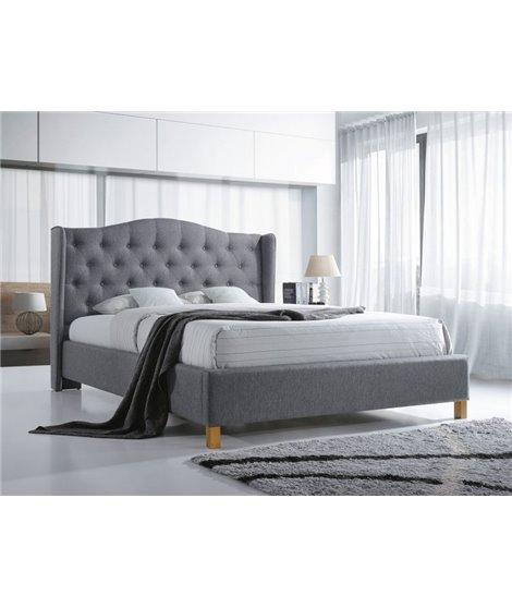 Кровать Signal ASPEN (серый) 180/200