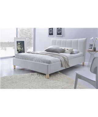 Кровать Halmar SANDY (белый) 160/200