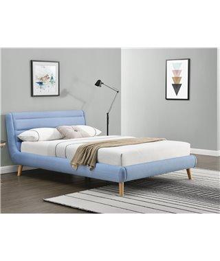 Кровать Halmar ELANDA (синий) 140/200