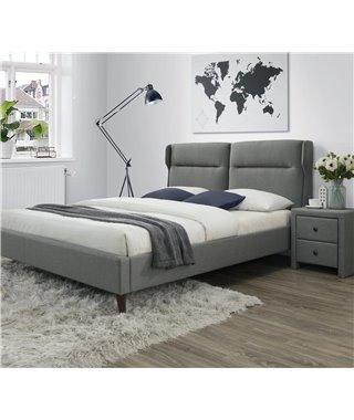 Кровать Halmar SANTINO (серый) 160/200