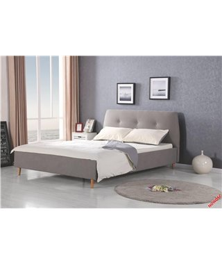 Кровать Halmar DORIS (серый/ольха) 160/200