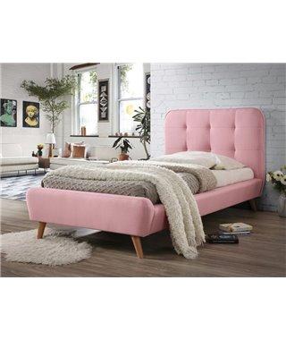 Кровать Signal TIFFANY (розовый) 90/200