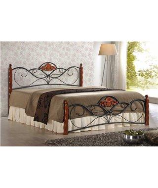 Кровать Halmar VALENTINA (античная черешня) 160/200