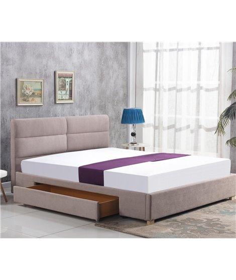 Кровать Halmar MERIDA (бежевый) 160/200