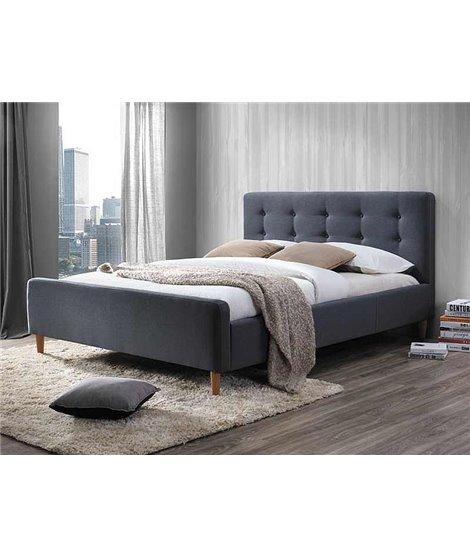 Кровать Signal PINKO (серый) 160/200