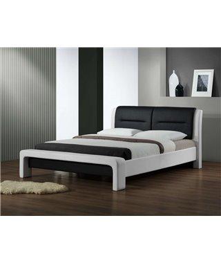 Кровать Halmar CASSANDRA (белый/черный)160/200