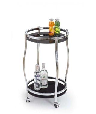 Стол сервировочный Halmar BAR-8 (черный)