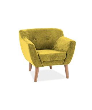 Кресло Signal BERGEN 1 Orinoco 1609 (желтый)