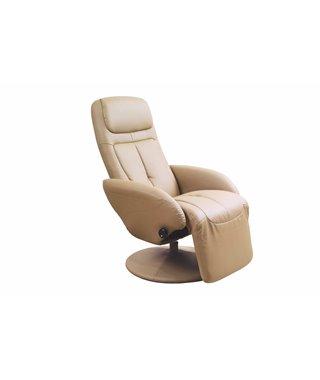 Кресло раскладное Halmar OPTIMA (бежевый)