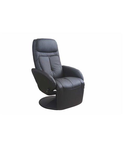 Кресло раскладное Halmar OPTIMA (черный)