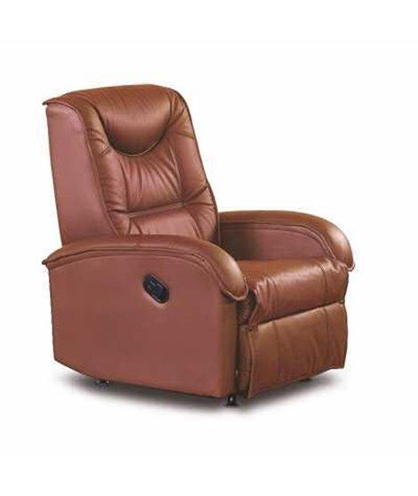 Кресло раскладное Halmar JEFF (коричневый)