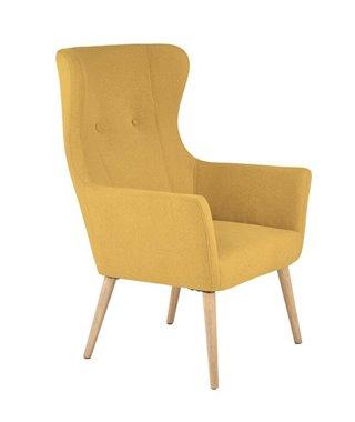 Кресло Halmar COTTO (горчичный)