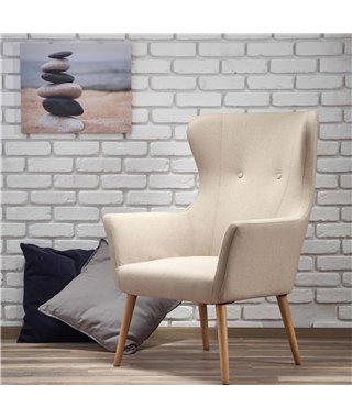 Кресло Halmar COTTO (бежевый)
