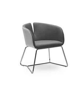 Кресло Halmar PIVOT (бело-серый)