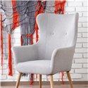 Кресло Halmar COTTO (светло-серый)