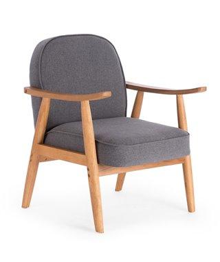 Кресло Halmar RETRO (серый)