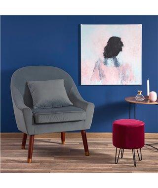 Кресло Halmar OPALE (серый)