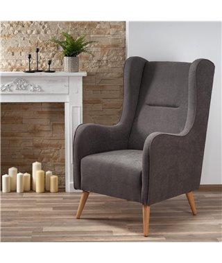Кресло Halmar CHESTER (темно-серый)