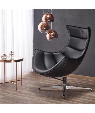 Кресло Halmar LUXOR (черный)