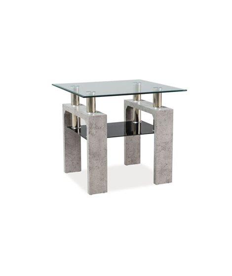 Стол журнальный Signal LISA D (серый)