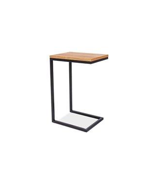 Стол журнальный Signal LARGO C (дуб/черный)