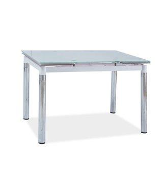 Стол обеденный Signal GD-018 110 раскладной (белый)