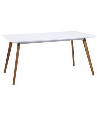 Стол обеденный Signal MILAN 140 (белый/дуб)