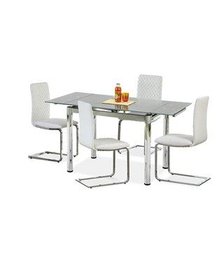 Стол обеденный Halmar LOGAN 2, раскладной (серый)