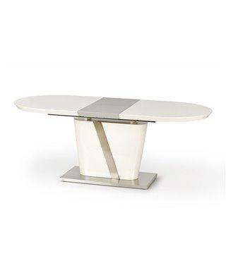 Стол обеденный Halmar IBERIS, раскладной (кремовый)