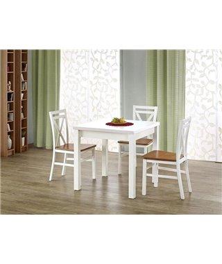 Стол обеденный Halmar GRACJAN, раскладной (белый)