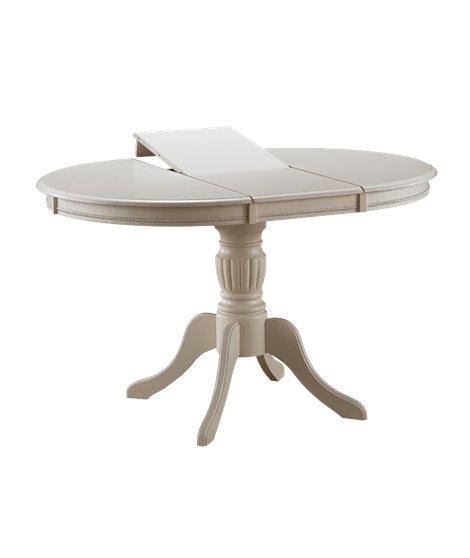 Стол обеденный Signal OLIVIA BIANCO 105 раскладной (экру)