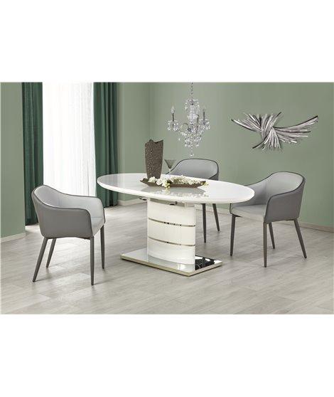 Стол обеденный Halmar ASPEN, раскладной (белый)