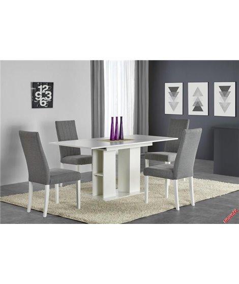 Стол обеденный Halmar KORNEL, раскладной (белый)