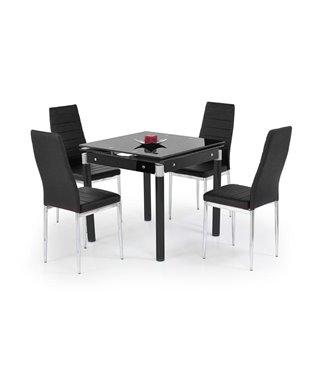 Стол обеденный Halmar KENT, раскладной (черный)