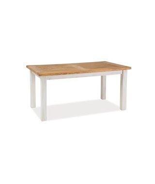 Стол обеденный Signal POPRAD 160 (медово-коричневый/сосна патина)