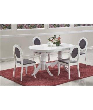 Стол обеденный Halmar JOSEPH раскладной (белый)