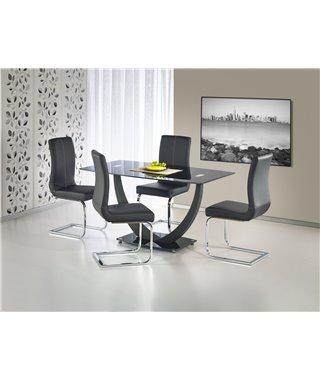 Стол обеденный Halmar ANTON (черный)