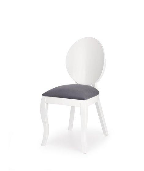 Стул кухонный Halmar VERDI (серый/белый)