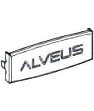 Декоративная заглушка для перелива Alveus 1089538, Anthracite