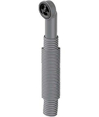 Сменный круглый перелив Omoikiri 4998038, для арматуры серии WK, вороненая сталь