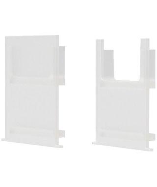Комплект заглушек Forma E Funzione Комплект заглушек для профиля ERA-C, 13060113, цвет белый матовый, 2 шт