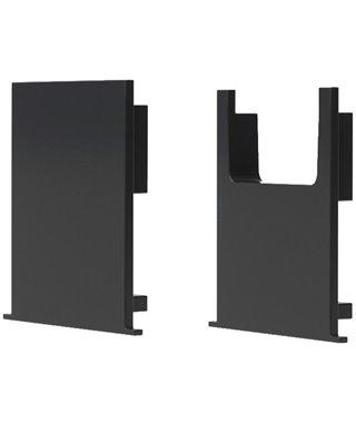 Комплект заглушек Forma E Funzione Комплект заглушек для профиля ERA-C, 13060114, цвет черный, 2 шт