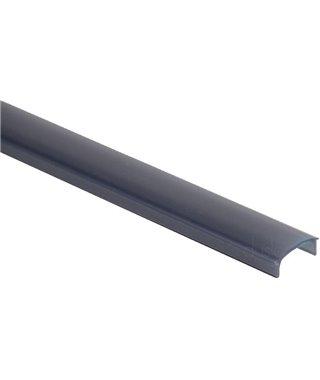 Рассеиватель Elettrompianti Рассеиватель для профиля MOSCA, 13050027, длина 3000 мм, цвет черный