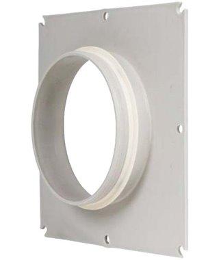 Фланец для воздуховода Lex Фланец прямоугольный для воздуховода 18*25, d100