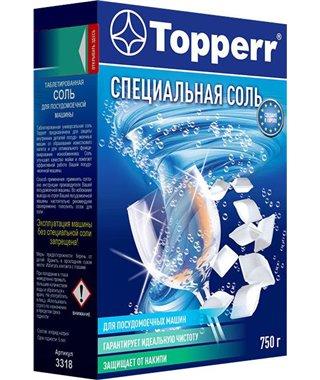 Соль для посудомоечных машин Topperr 3318, 750 г